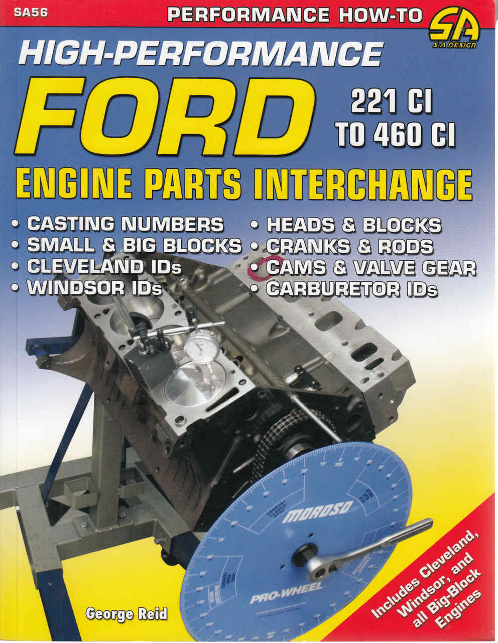 High Performance Ford Engine Parts Interchange: Updated Edition