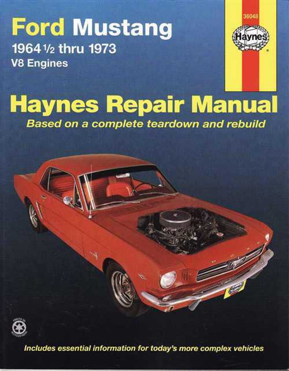 ford mustang v8 july 1964 1973 workshop manual rh automotobookshop com au 2005 ford mustang workshop manual 2005 ford mustang workshop manual