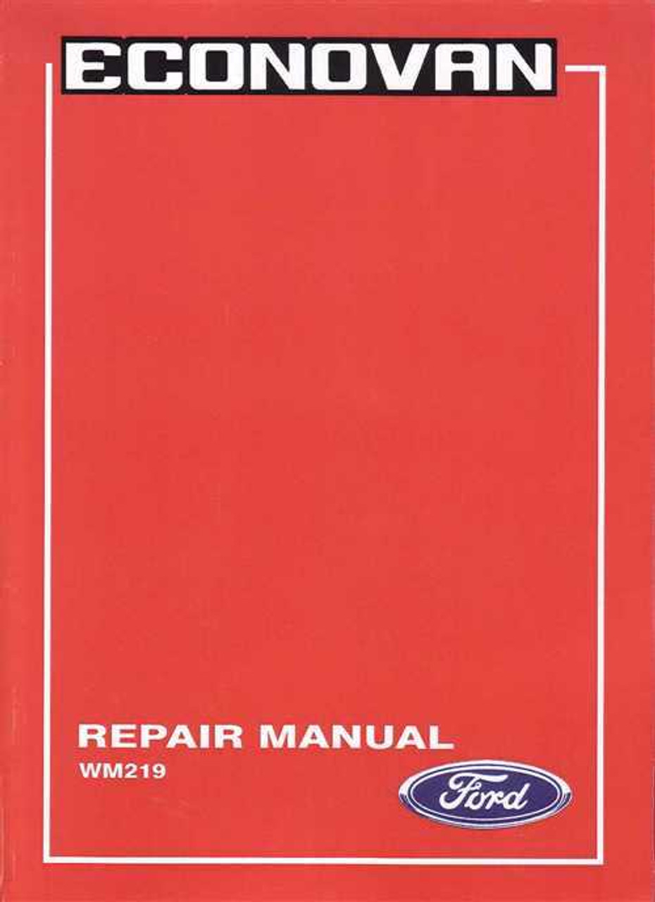 ford econovan 1979 1983 workshop manual rh automotobookshop com au
