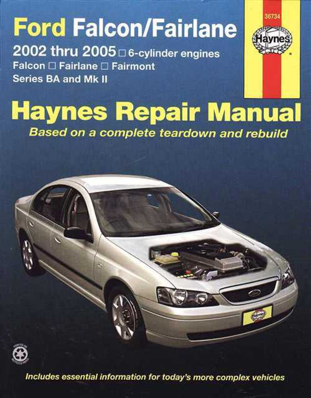 ford falcon fairlane 2002 2005 workshop manual rh automotobookshop com au fg falcon workshop manual fg falcon workshop manual