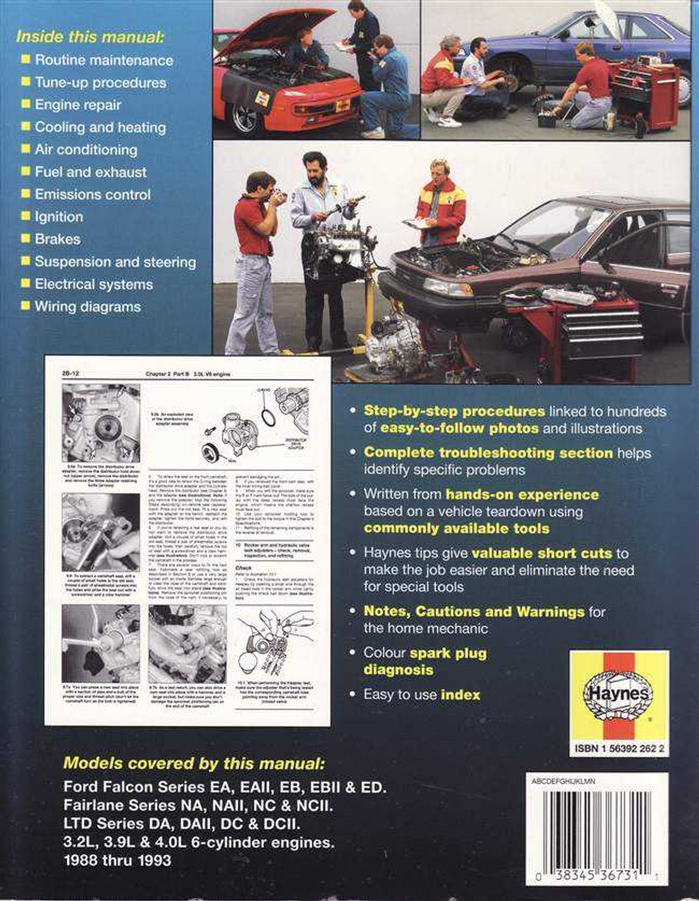 Ford falcon fairlane 1988 1993 workshop manual cheapraybanclubmaster Images