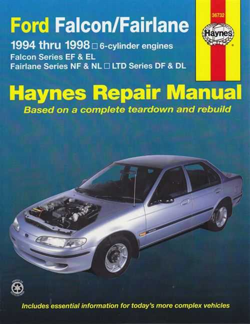 ford falcon ef el fairlane nf nl ltd df dl 1994 1998 workshop manual rh automotobookshop com au ford falcon ef workshop manual download Ford Falcon GT