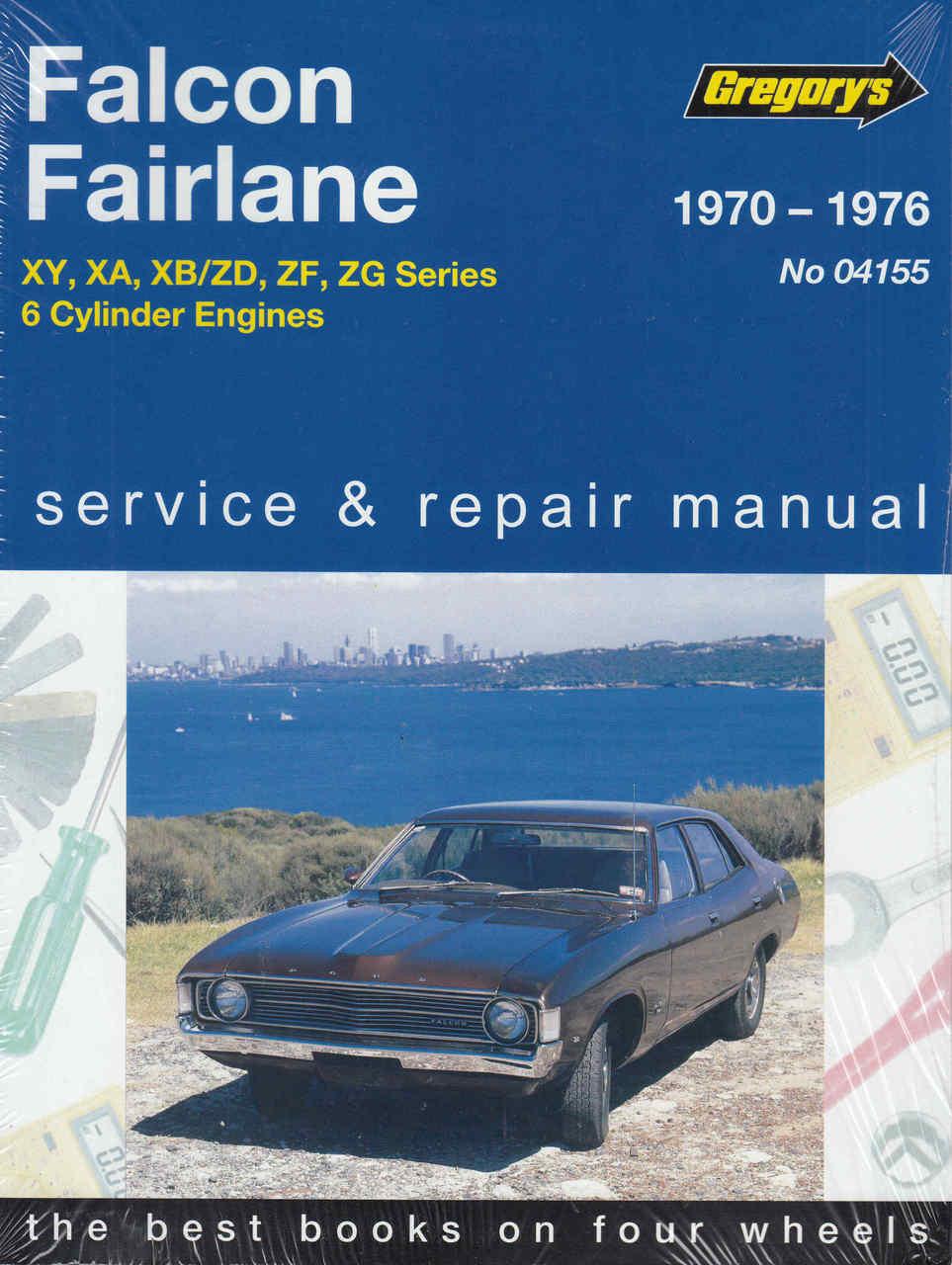 ford falcon fairlane 1970 1976 workshop manual rh automotobookshop com au Australian Ford Falcon Mad Max Ford XB Falcon