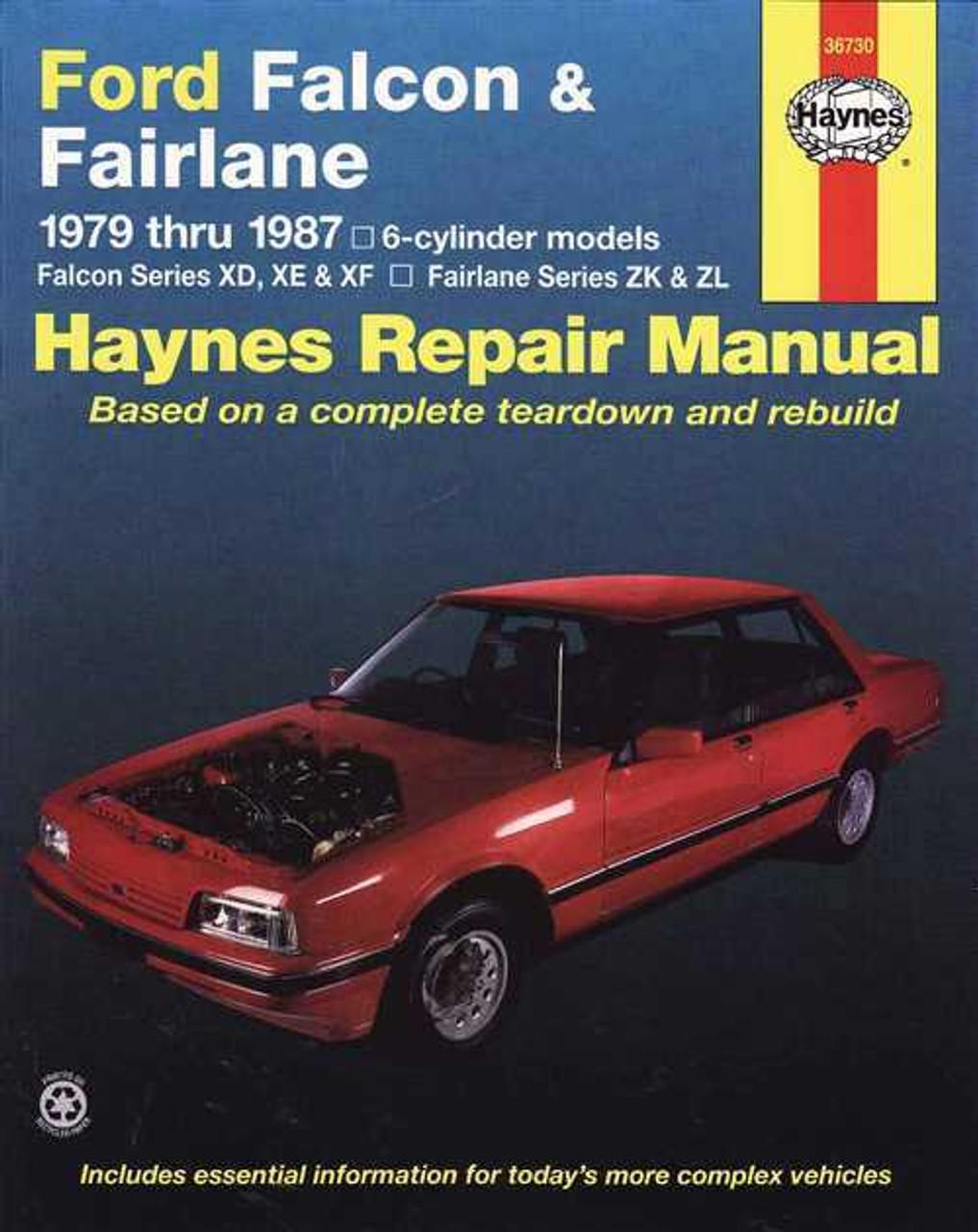 ford falcon amp fairlane 1979 1987 workshop manual rh automotobookshop com au ba falcon service manual pdf download ba falcon service manual pdf download