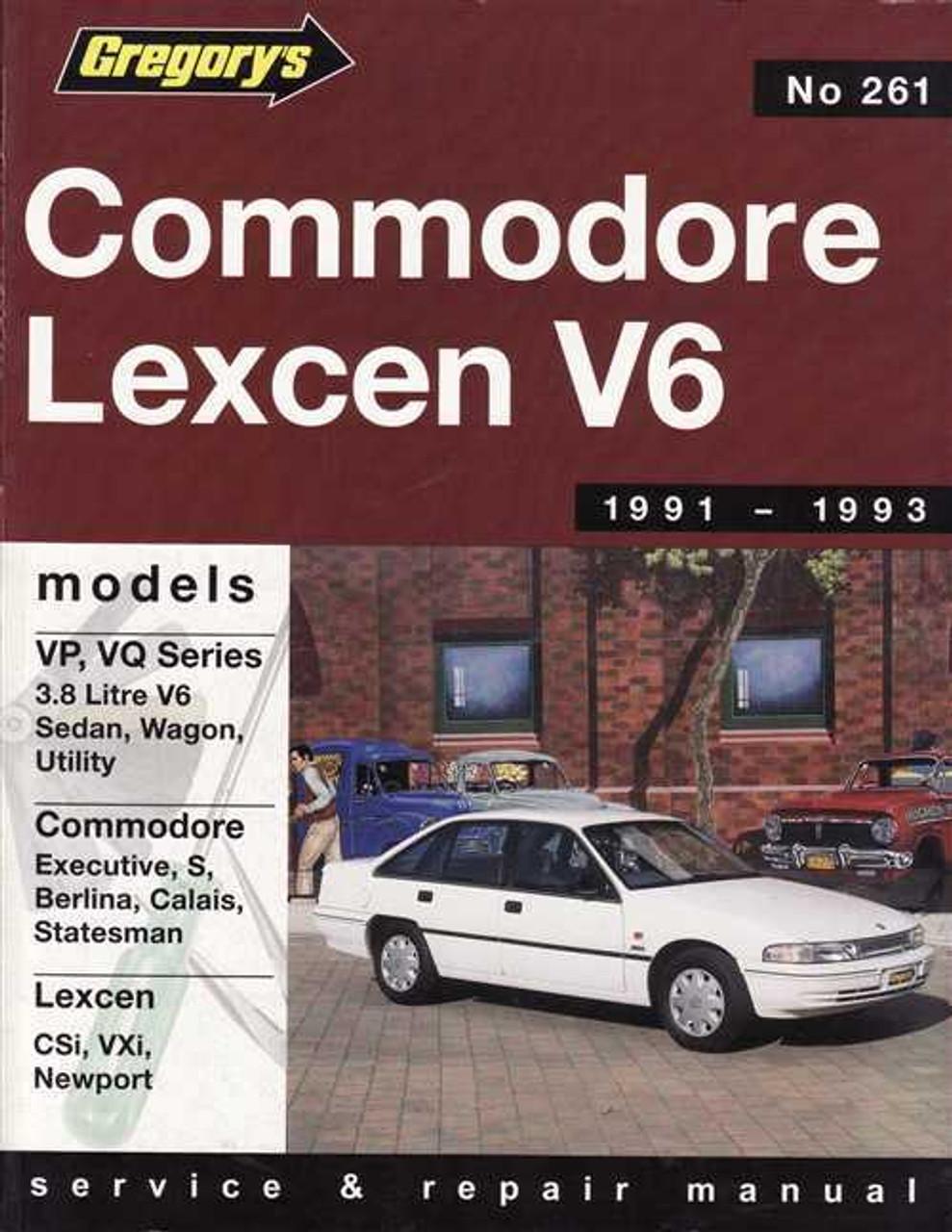 holden commodore amp toyota lexcen v6 1991 1993 workshop manual rh automotobookshop com au vr commodore repair manual vr commodore workshop manual pdf