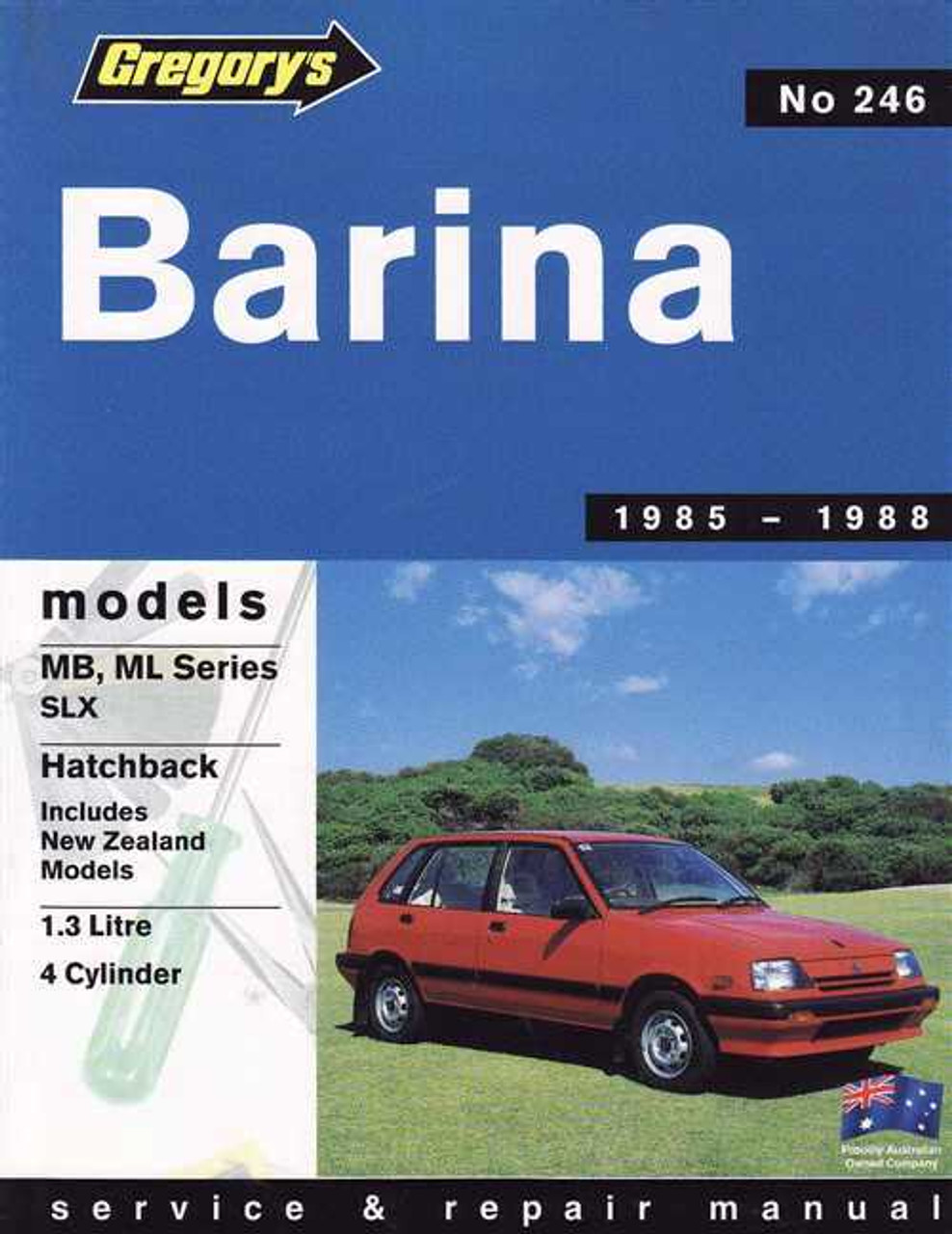 holden barina 1985 1988 workshop manual rh automotobookshop com au 1985 Holden Barina 2013 Holden Barina