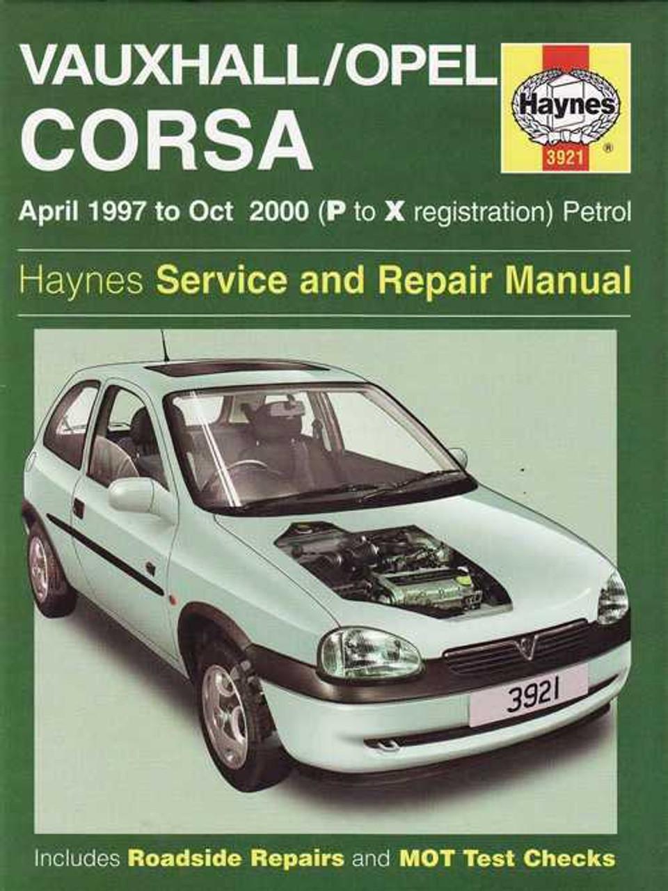 holden barina vauxhall opel corsa petrol 1997 2000 workshop manual rh automotobookshop com au Opel Corsa Bakkie Mpumalanga Opel Corsa Bakkie Sport