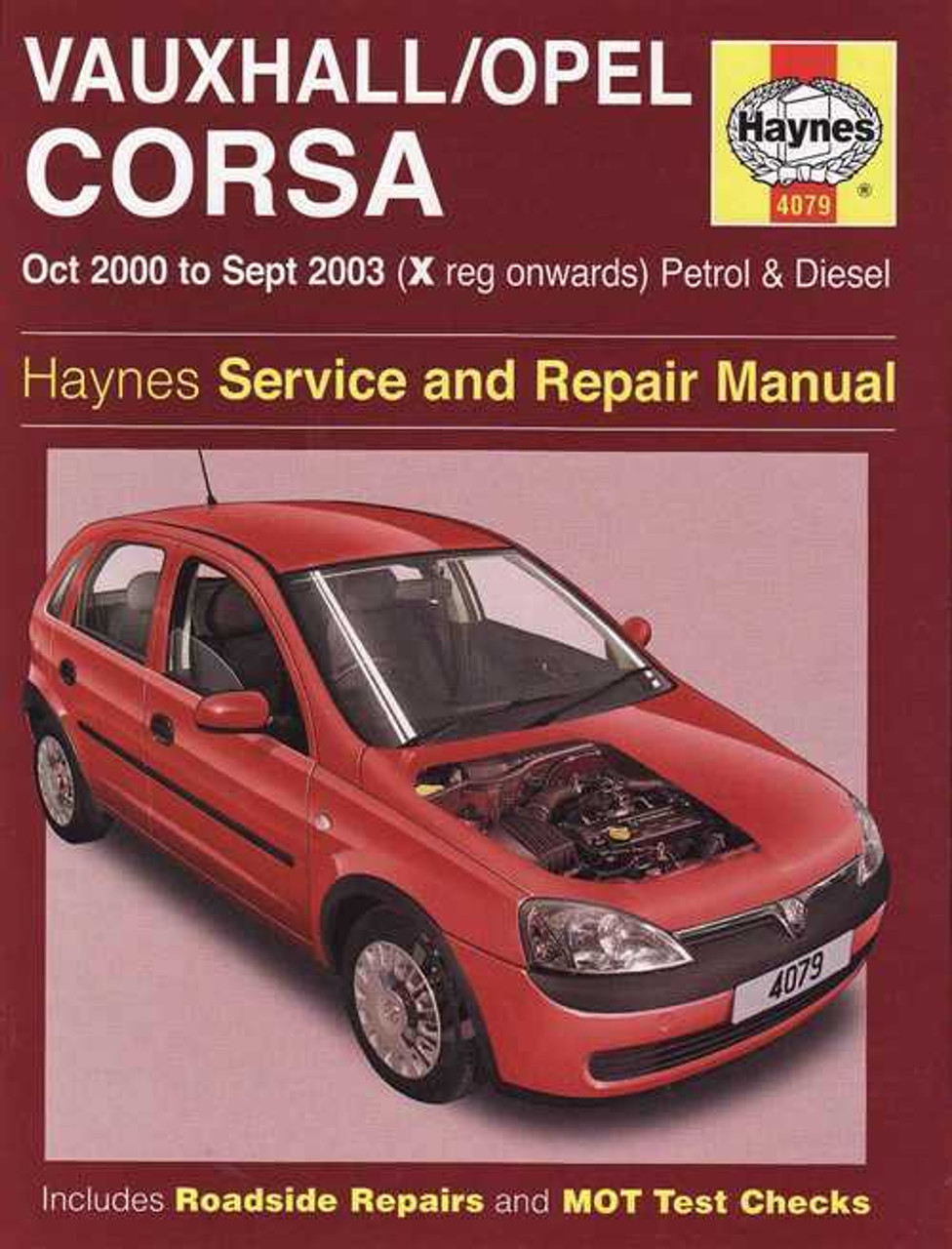 holden barina vauxhall opel corsa petrol diesel 2000 2003 rh automotobookshop com au barina workshop manual tk barina workshop manual free download