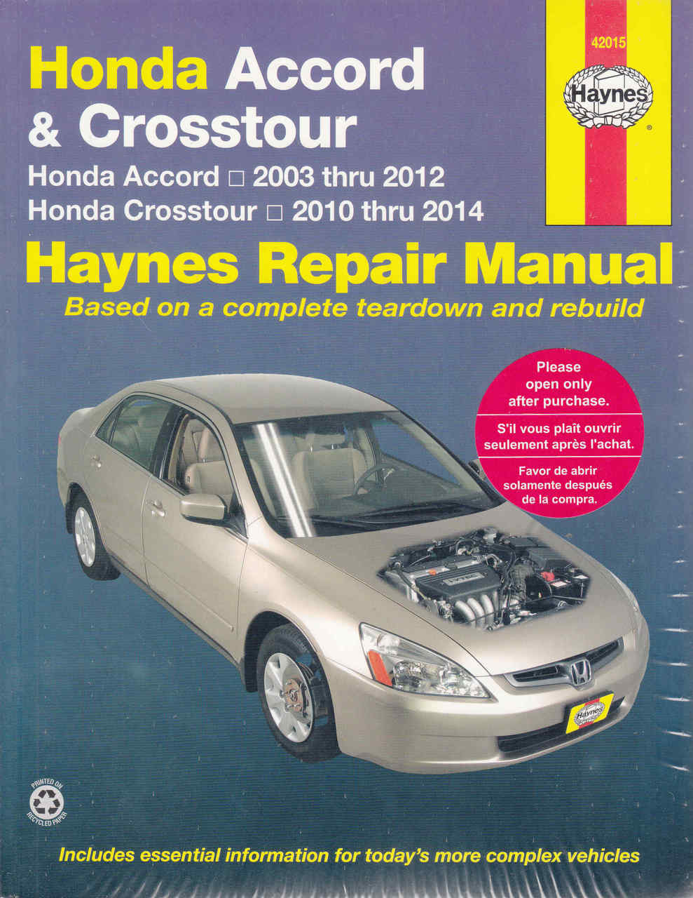 honda accord crosstour 2003 2012 workshop manual rh automotobookshop com au 2018 Honda Accord Manual Transmission honda accord 2008 service manual pdf