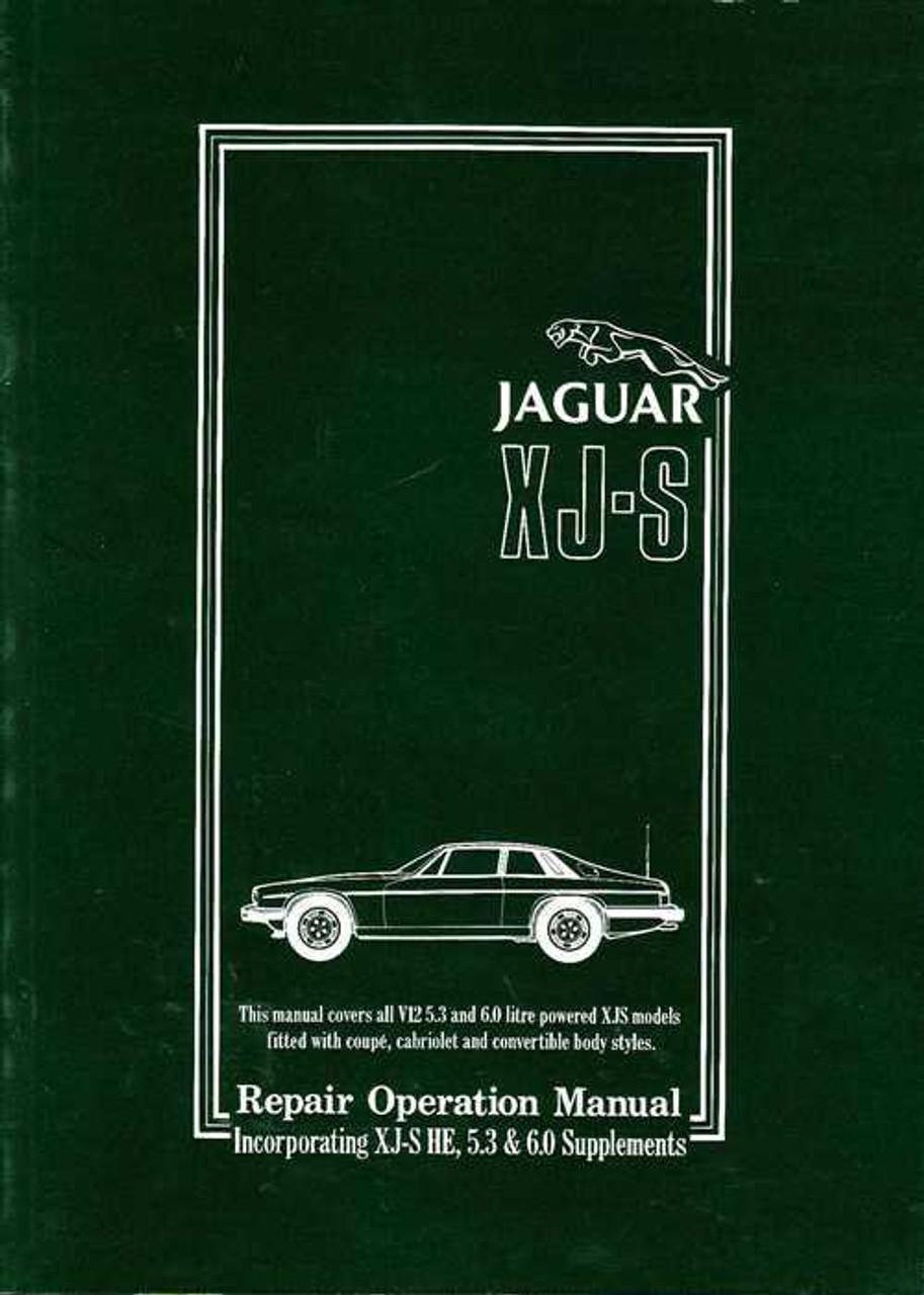 jaguar xj s workshop manual rh automotobookshop com au jaguar xjs service manual download 1995 jaguar xjs owners manual pdf