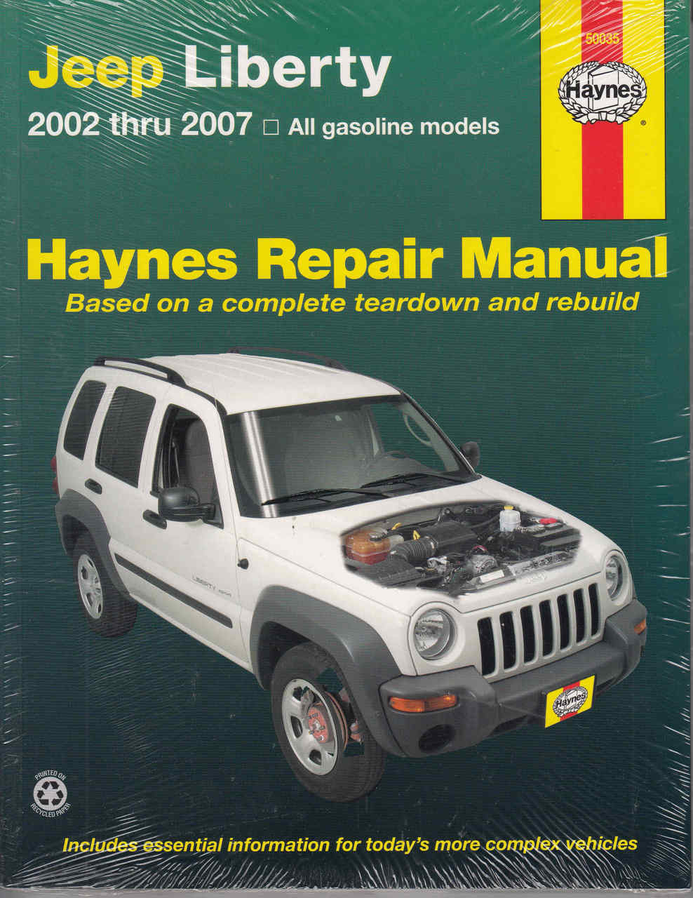 jeep liberty 2002 2007 gasoline models workshop manual rh automotobookshop  com au Custom 2002 Jeep Liberty 2002 Jeep Liberty Sport Manual