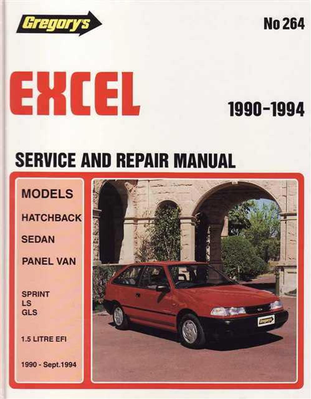 hyundai excel 1990 1994 workshop manual rh automotobookshop com au 1996 hyundai accent owners manual 1987 Hyundai Excel