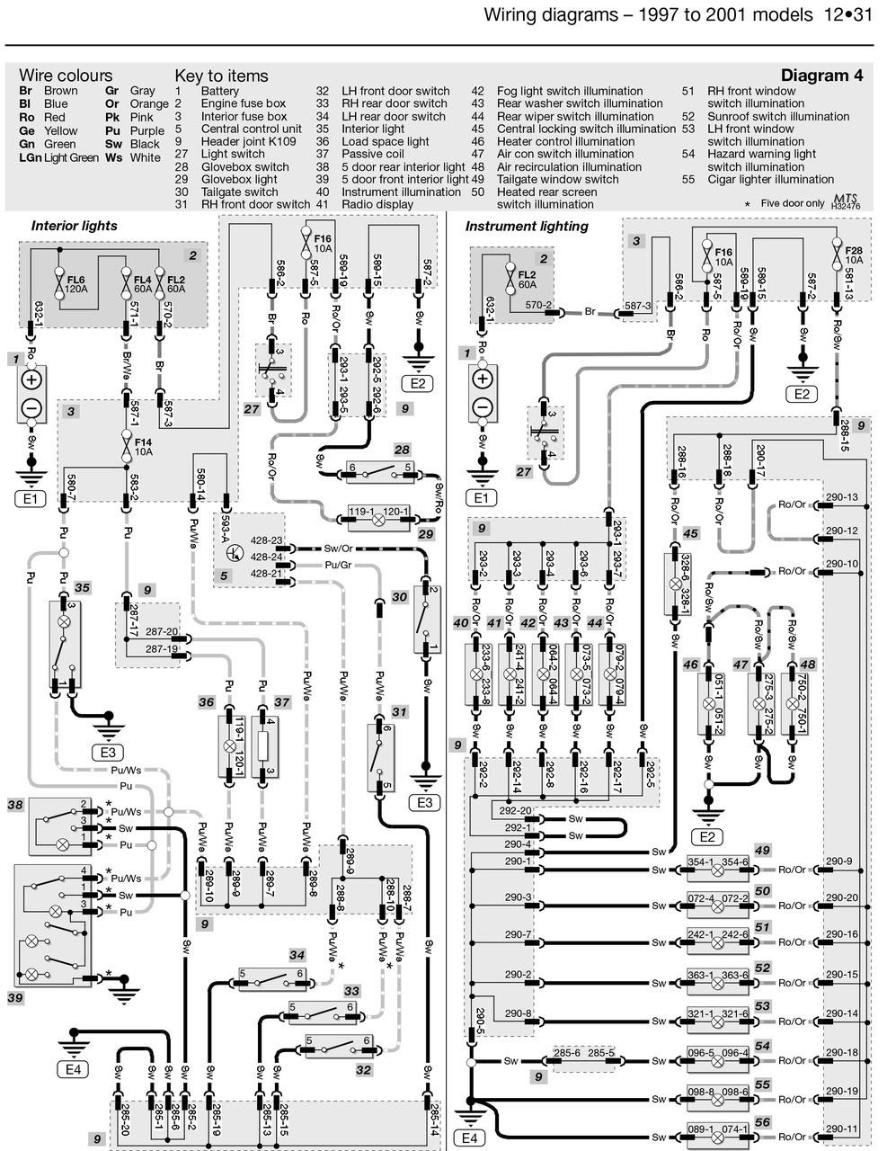 Land Rover Freelander 1997 2006 Workshop Manual Brakes Diagram Petrol Diesel