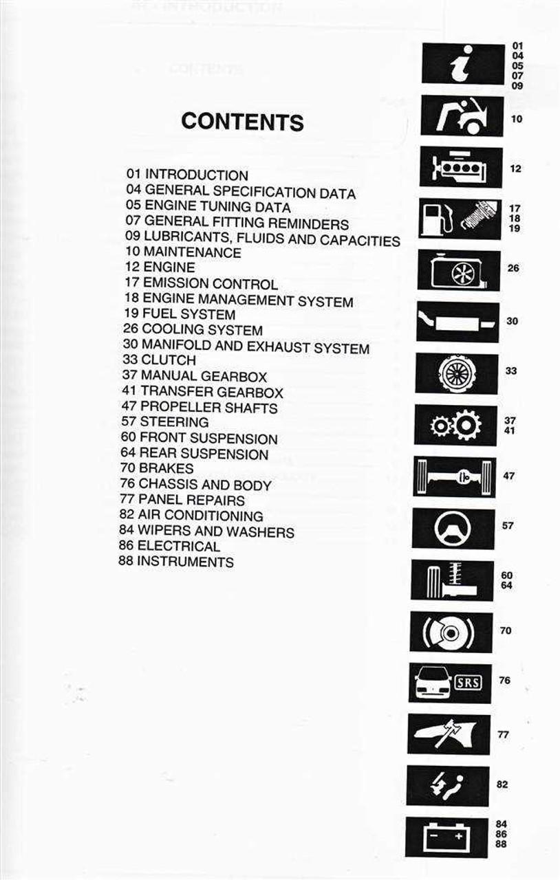 land rover defender td5 1999 2002 workshop manual rh automotobookshop com au discovery td5 engine workshop manual Rover KV6 Engine