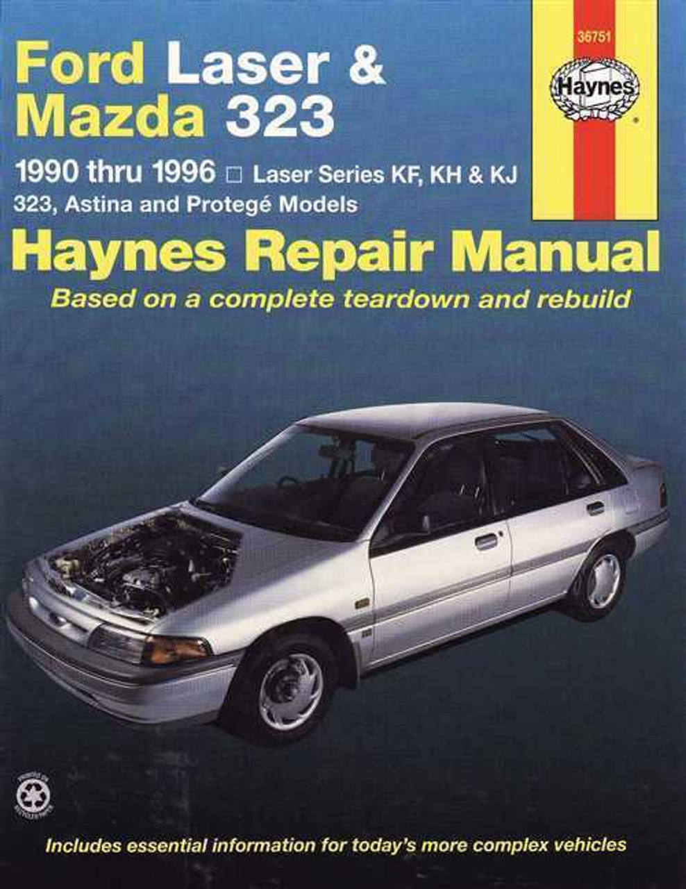 ford laser amp mazda 323 1990 1996 workshop manual rh automotobookshop com au