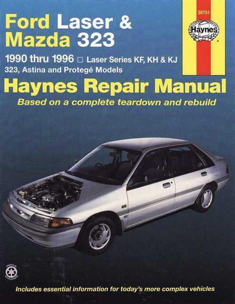 ford laser amp mazda 323 1990 1996 workshop manual rh automotobookshop com au Mazda Familia S-Wagon Mazda MX-3