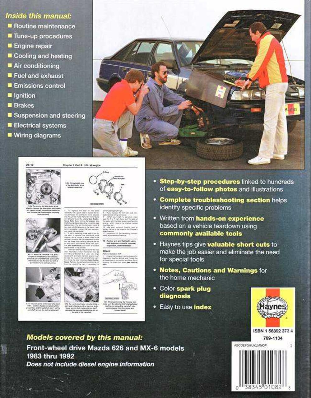 1996 Mazda 626 Stereo Wiring Diagram
