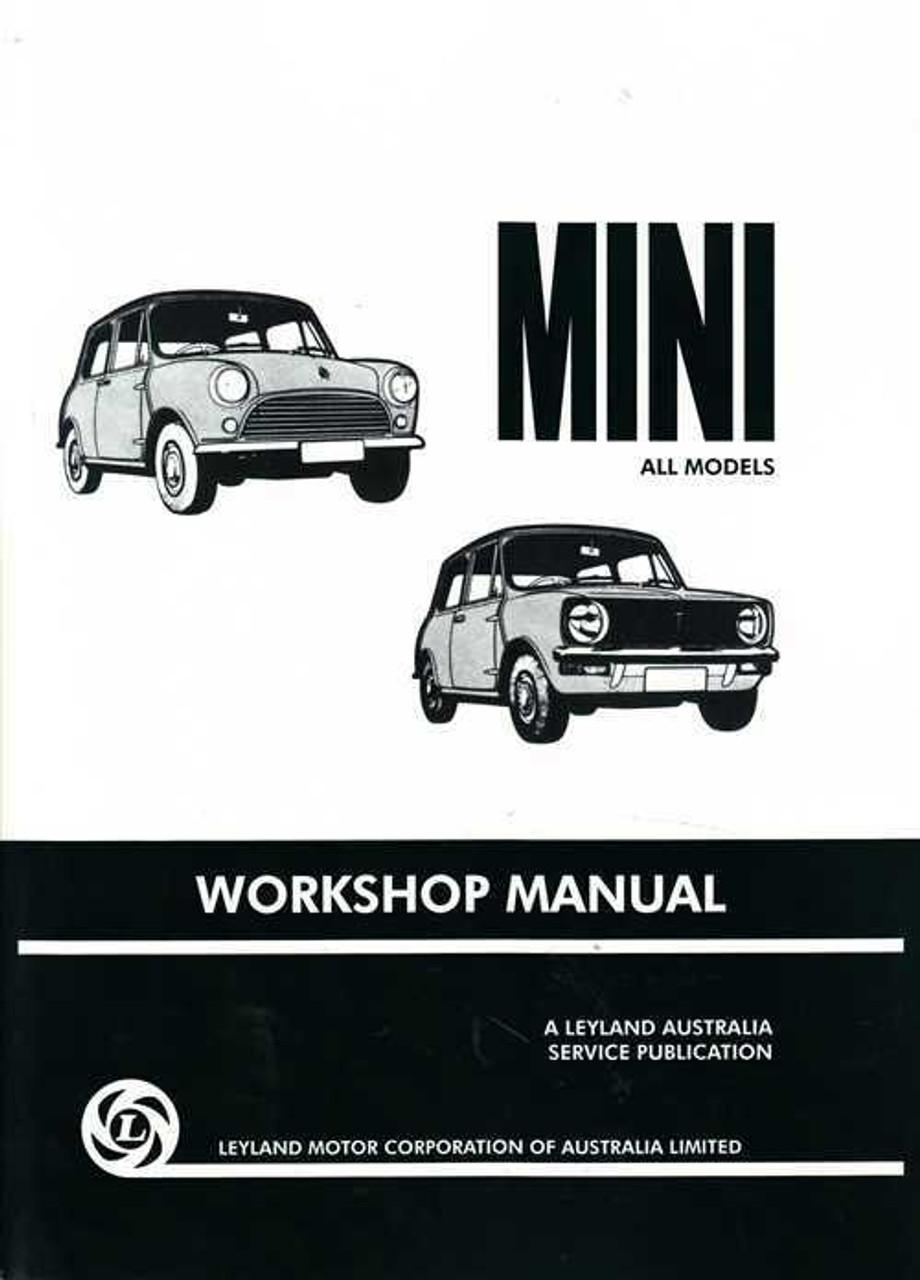 mini all models workshop manual rh automotobookshop com au leyland mini workshop manual 1976 Leyland Mini