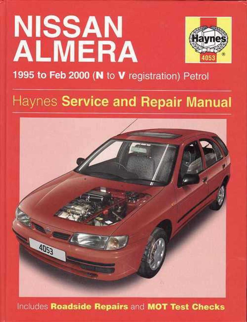nissan almera pulsar n15 1995 2000 workshop manual rh automotobookshop com au 2010 Nissan Sentra 2014 Nissan Sentra