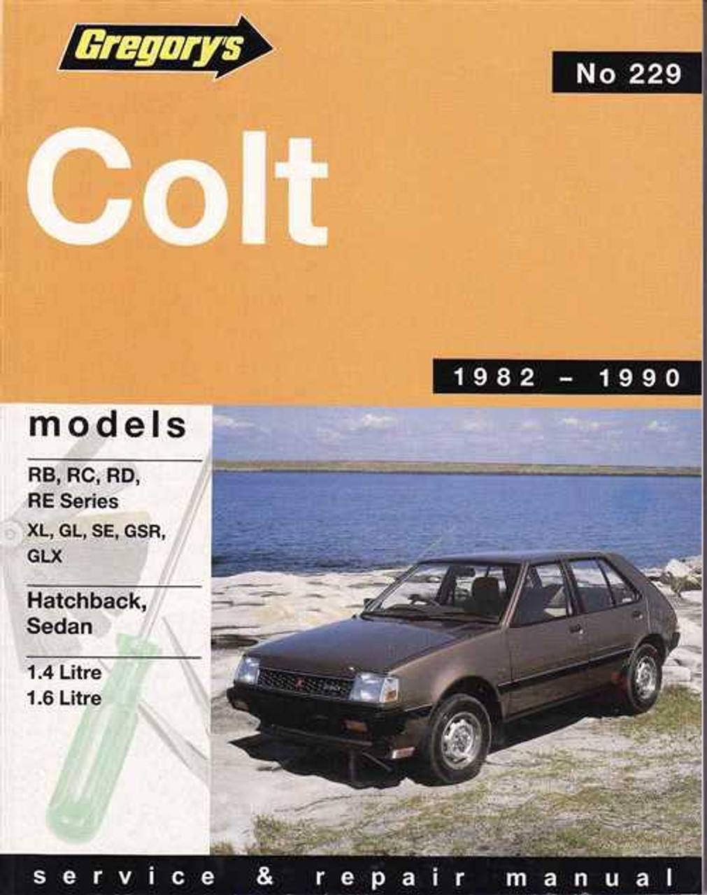 mitsubishi colt 1982 1990 workshop manual rh automotobookshop com au