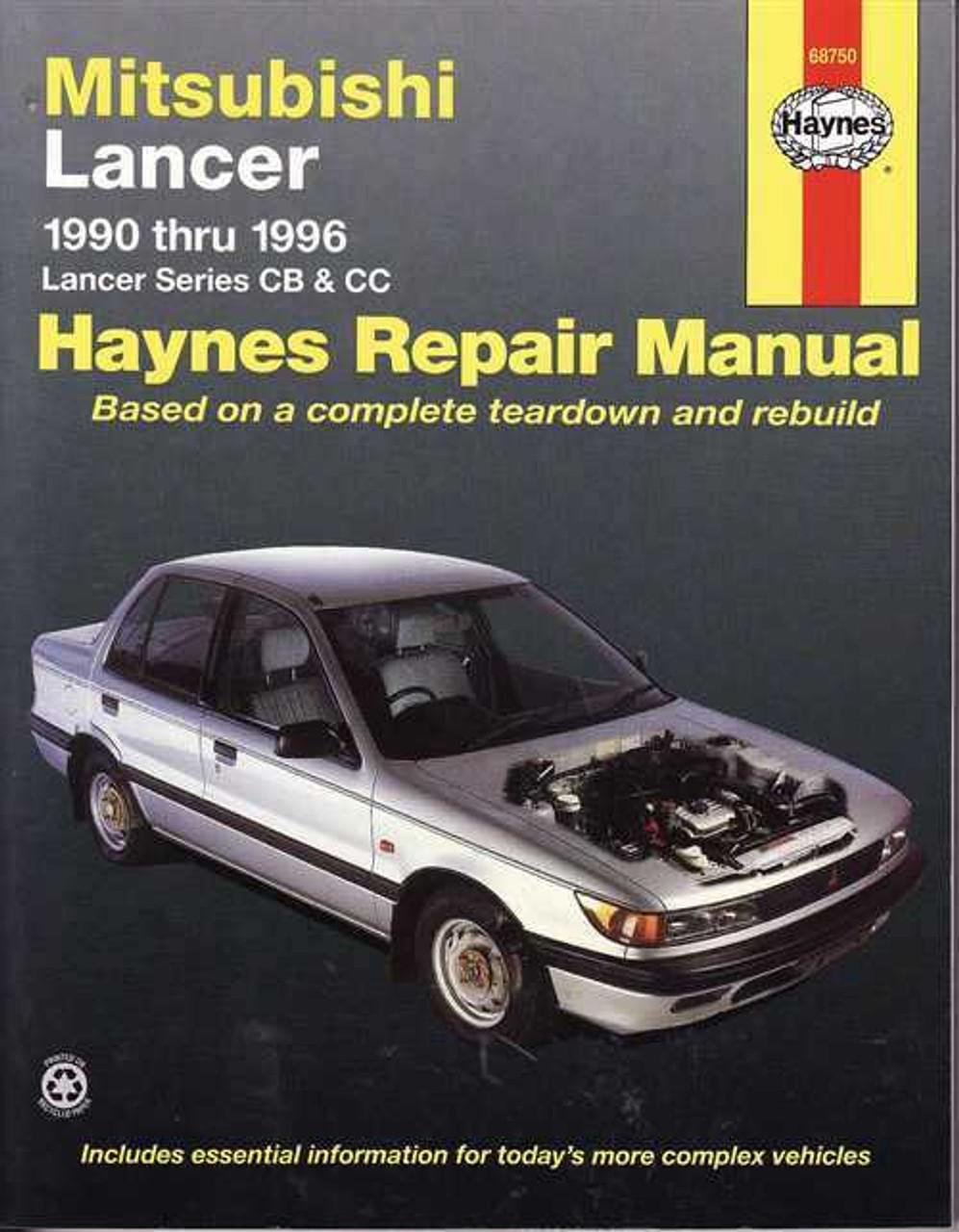 mitsubishi lancer cb amp cc 1990 1996 workshop manual rh automotobookshop com au Clymer Manuals Mygmlink Owner's Manual