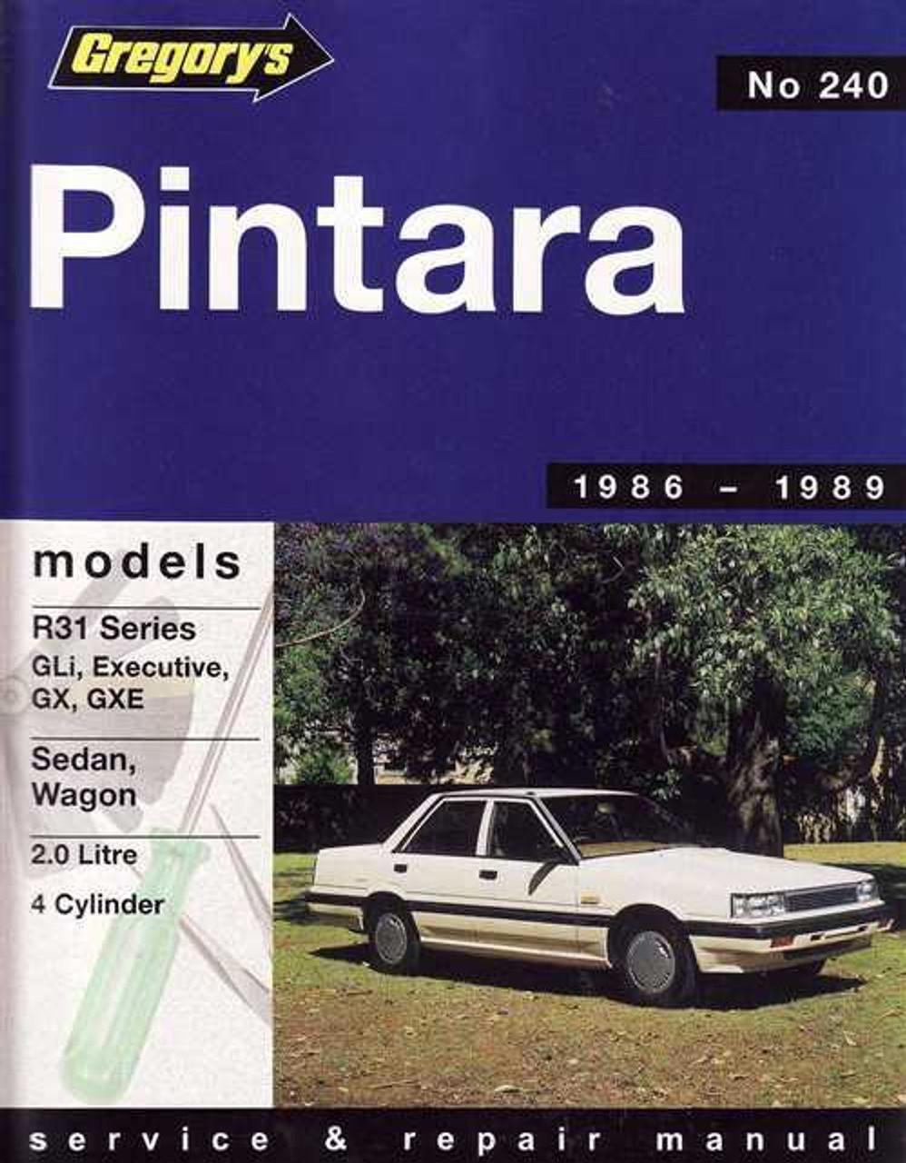 nissan pintara 1986 1989 workshop manual rh automotobookshop com au Nissan Prairie 1991 nissan pintara workshop manual