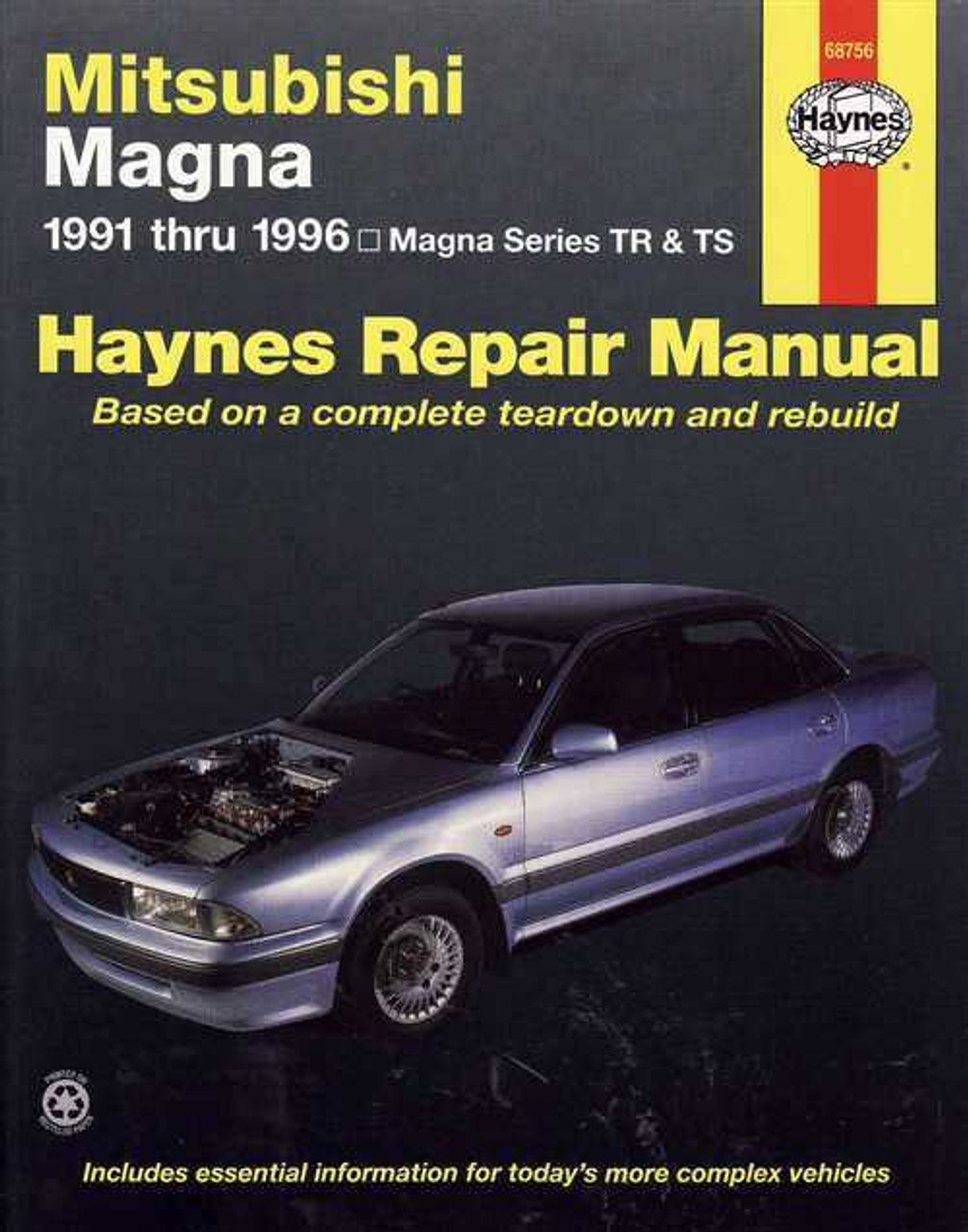 mitsubishi magna tr ts series 1991 1996 workshop manual. Black Bedroom Furniture Sets. Home Design Ideas