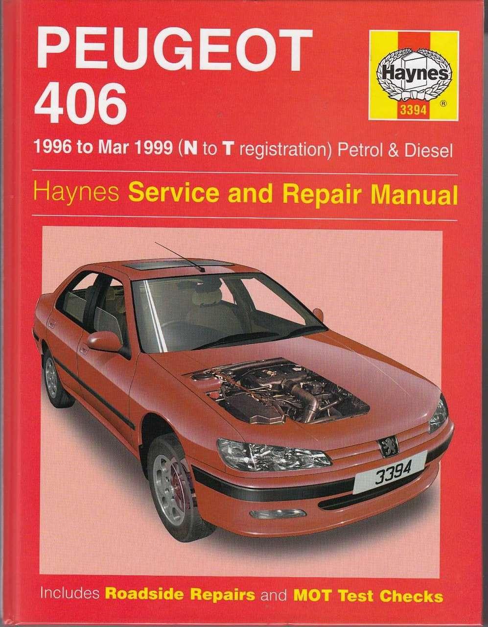 peugeot 406 petrol diesel 1996 1997 workshop manual rh automotobookshop com au Peugeot 406 Coupe Interior peugeot 406 coupe service manual