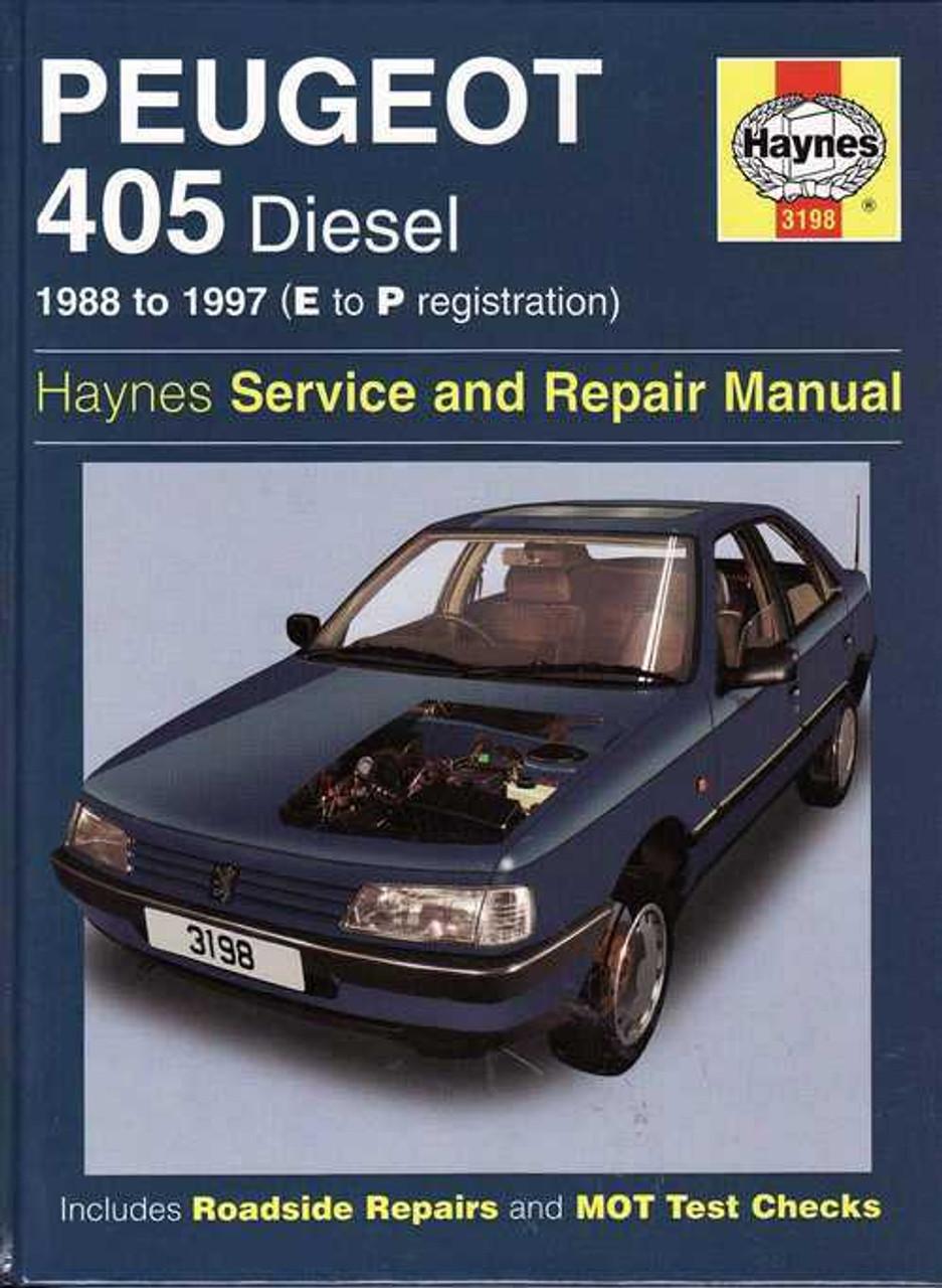 peugeot 405 diesel 1988 1997 workshop manual rh automotobookshop com au Peugeot 508 Peugeot 505