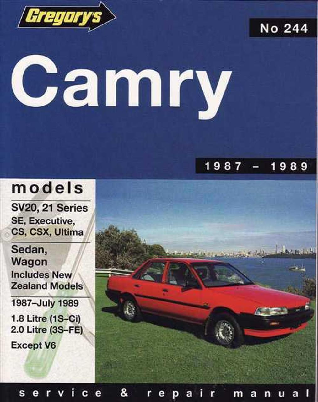 toyota camry sv20 sv21 series 1987 1989 workshop manual rh automotobookshop com au 1989 toyota camry manual transmission 1989 toyota camry manual transmission