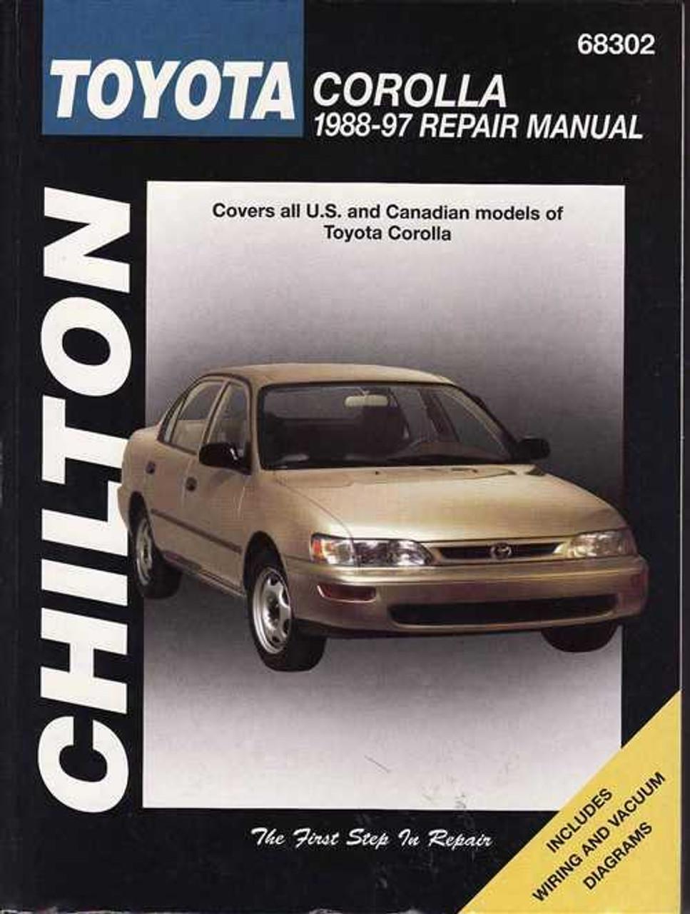 toyota corolla 1988 1997 workshop manual rh automotobookshop com au Toyota Corolla Service Diagrams Toyota Corolla Service Diagrams