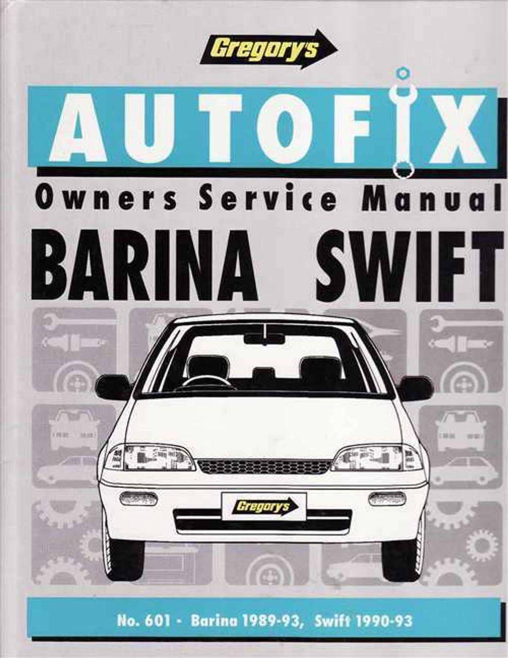holden barina amp suzuki swift 1989 1993 workshop manual rh automotobookshop com au 1993 Suzuki Swift Parts 1994 Suzuki Swift