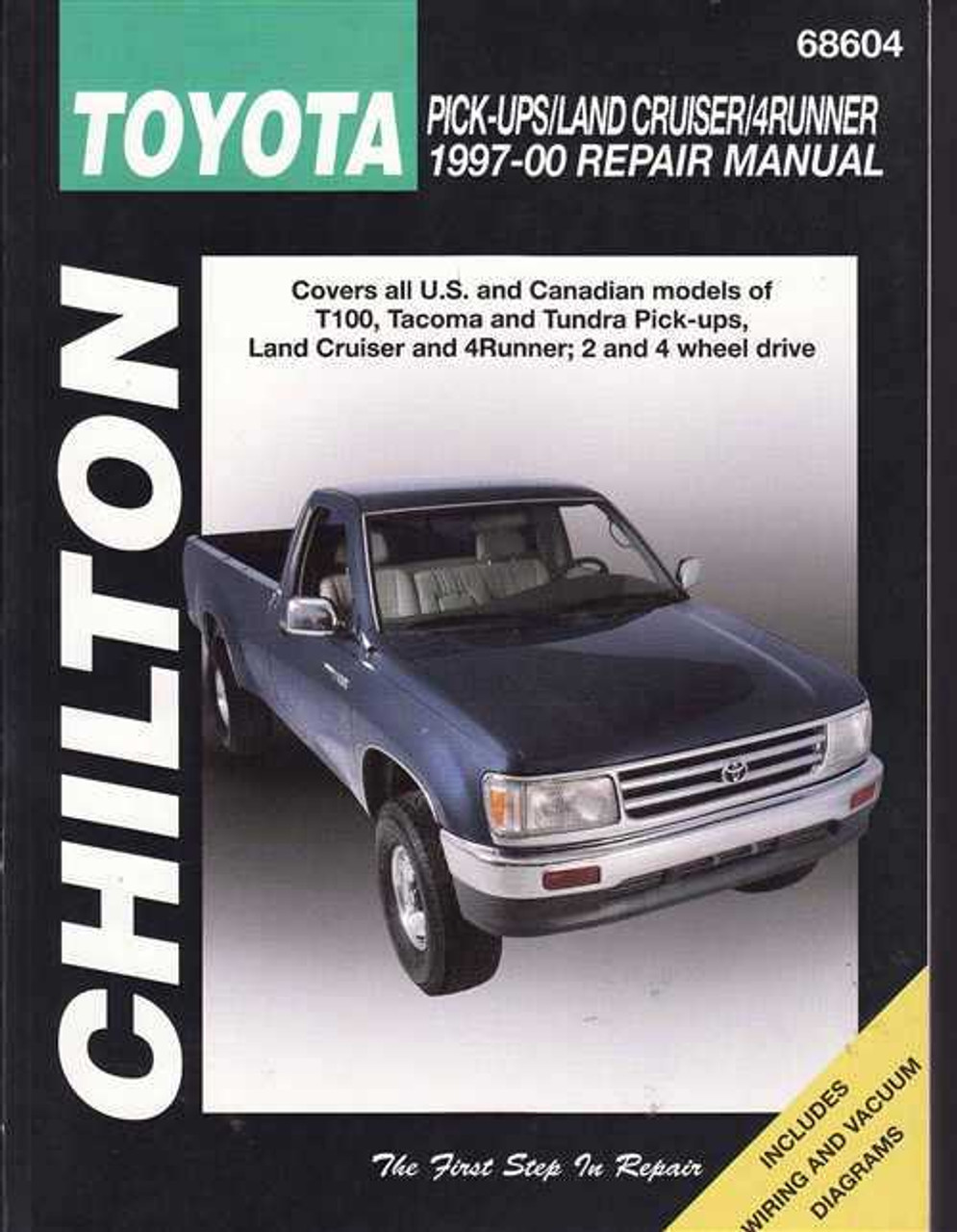toyota pick ups land cruiser 4runner 1997 2000 workshop manual rh automotobookshop com au Haynes Manual GMC Jimmy 1995-2001 Haynes Manual GMC Jimmy 1995-2001