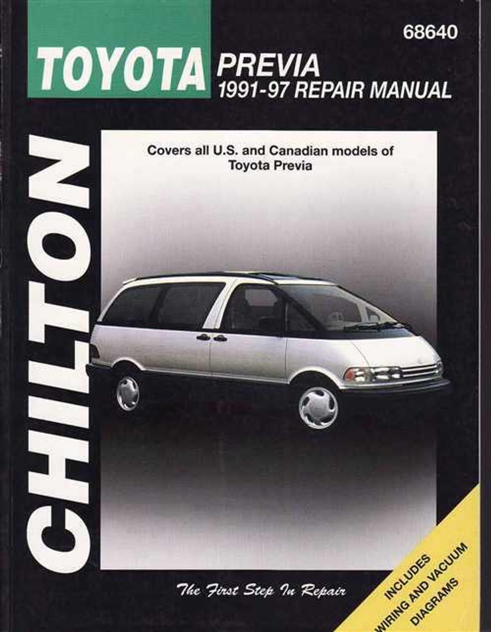 toyota tarago previa 1991 1997 workshop manual rh automotobookshop com au 1997 Toyota Supra Twin Turbo 1997 Toyota Supra Twin Turbo