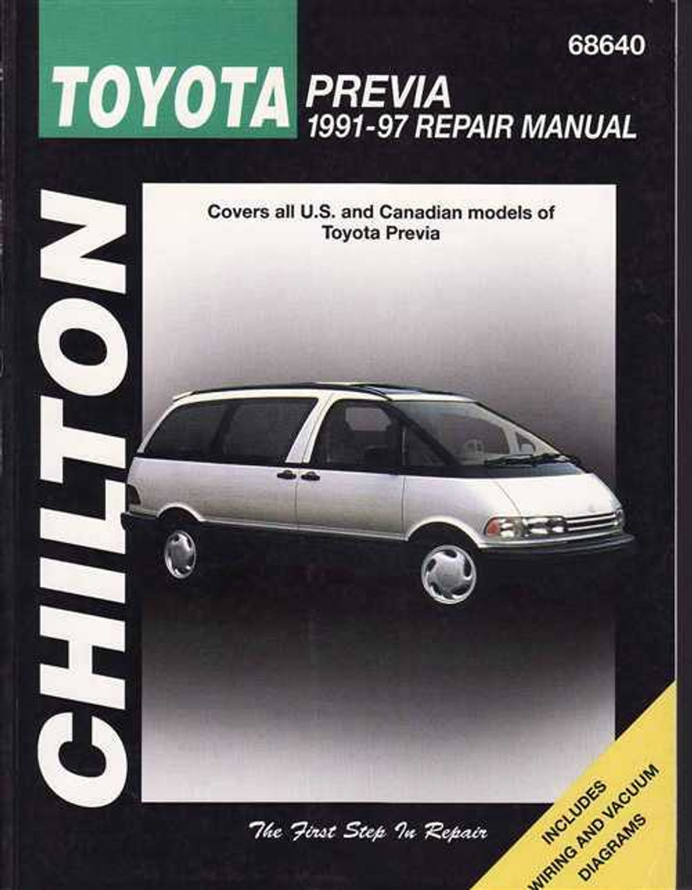 B Toyota Previa Workshop Manual