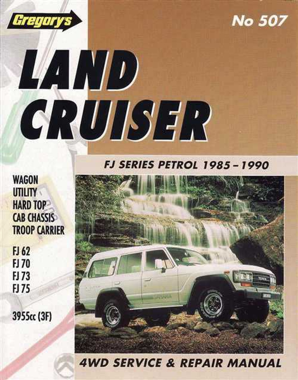 toyota land cruiser fj series 1985 1990 workshop manual rh automotobookshop com au 1990 FJ62 Wiper 1990 FJ62 Wiper