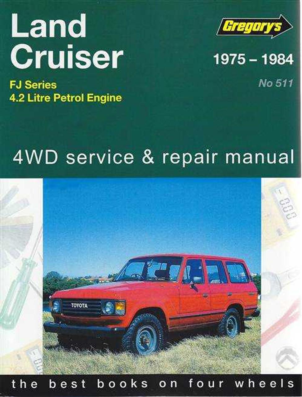 toyota land cruiser fj series fj40 fj45 fj55 fj60 1975 1984 rh automotobookshop com au FJ Cruiser Logo Blue FJ Cruiser