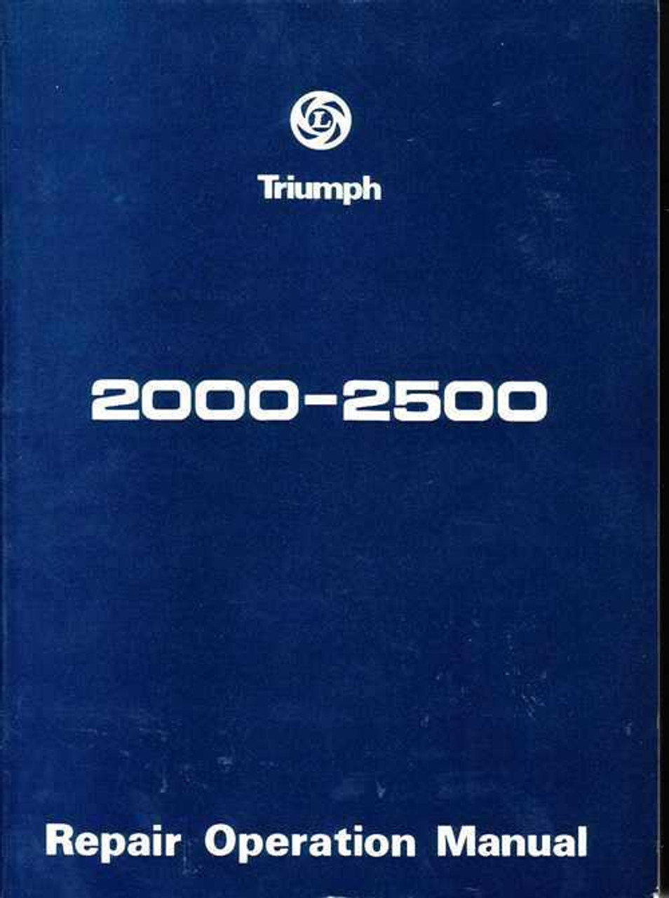 triumph 2000 2500 workshop manual rh automotobookshop com au