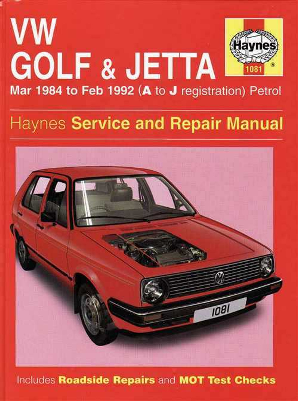 volkswagen golf amp jetta mk ii 1984 1992 workshop manual rh automotobookshop com au 1985 VW Golf 2002 Volkswagen Golf