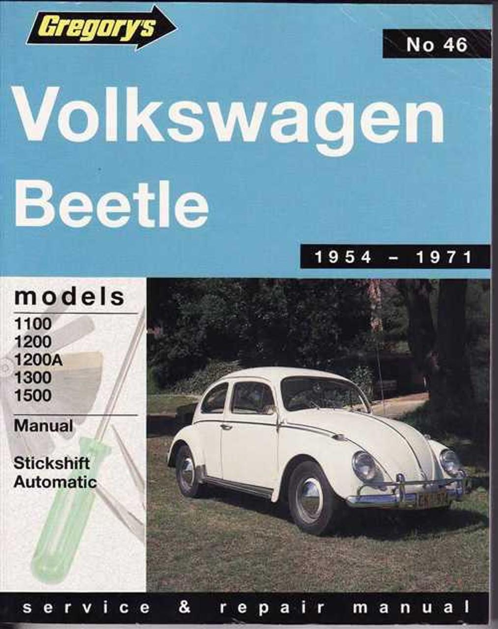 Volkswagen Beetle 1954 - 1971 Workshop Manual