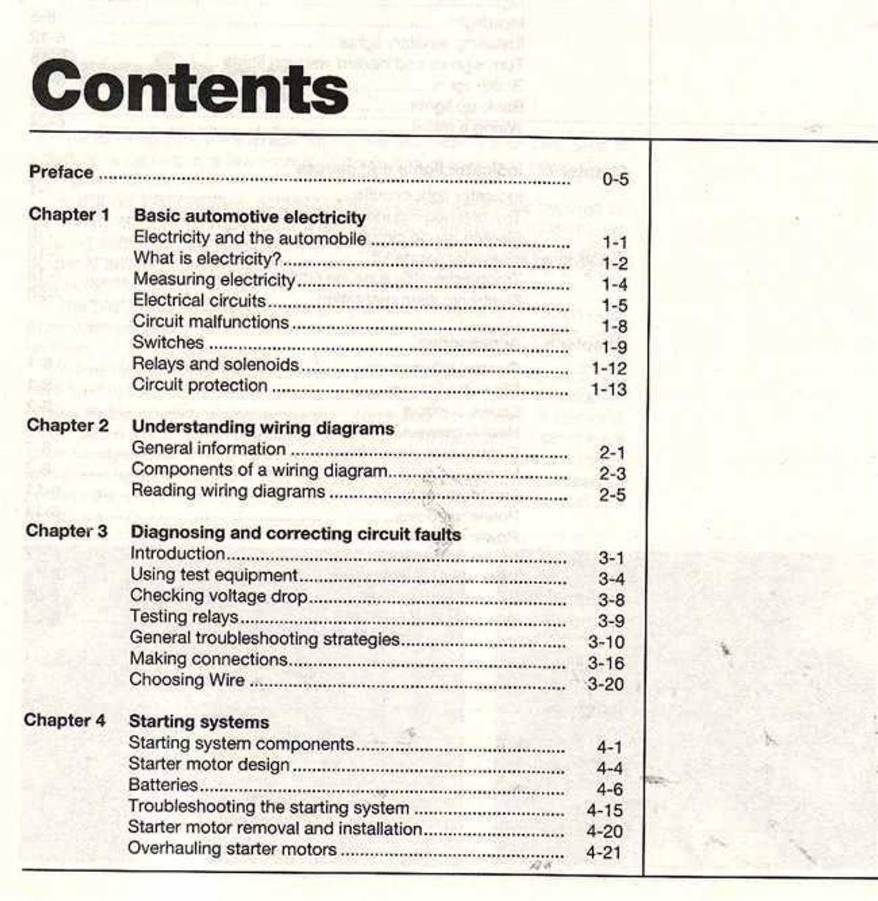 Automotive Electrical Manual (Haynes Techbook)