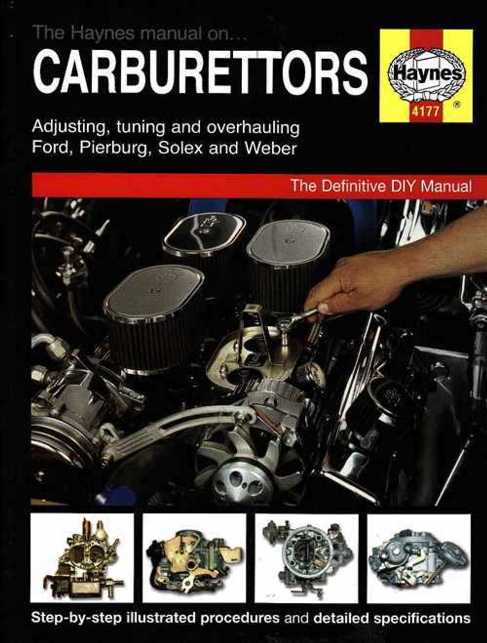 the haynes carburettors manual rh automotobookshop com au haynes carburetor manual solex pierburg carburettor haynes manual