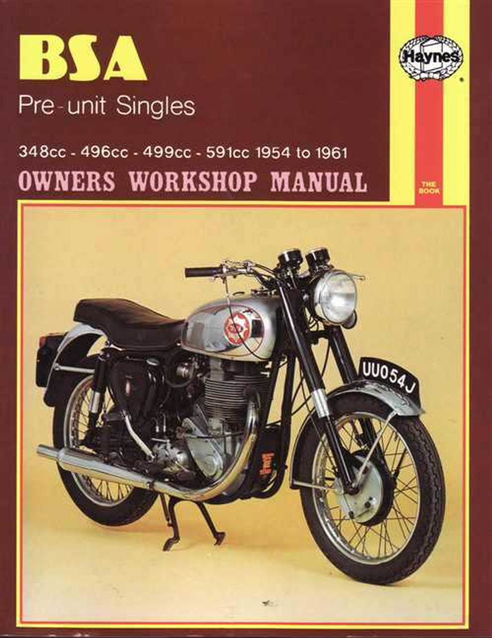 bsa pre unit singles 348cc 496cc 499cc 591cc 1954 1961 workshop rh automotobookshop com au BSA A10 Plunger bsa a10 workshop manual pdf