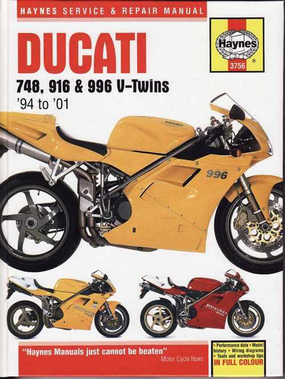 ducati 748 916 amp 996 v twins 1994 to 2001 workshop manual rh automotobookshop com au ducati st4s manuals download ducati st4s parts manual
