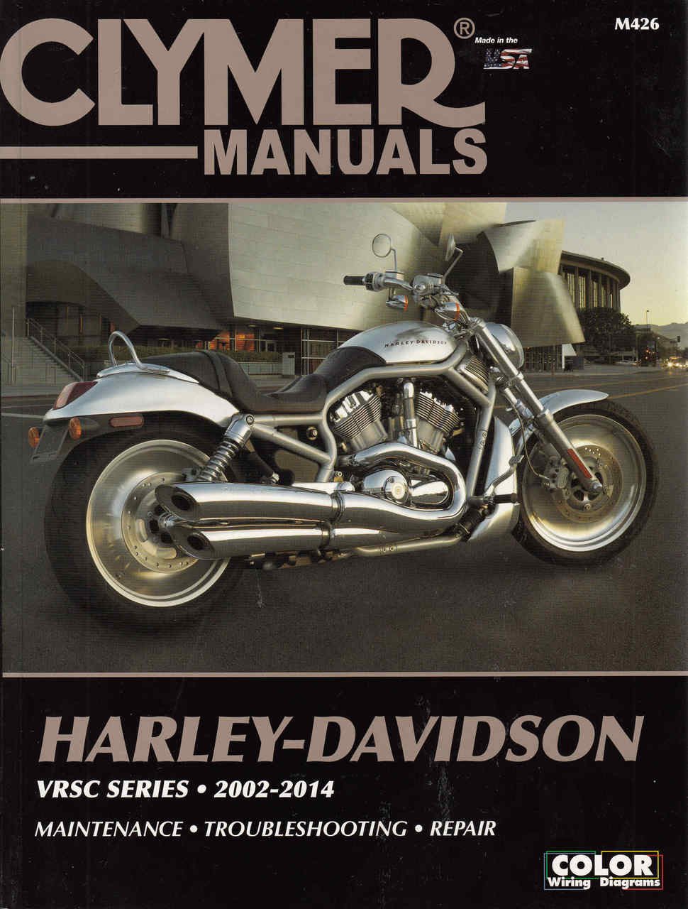 Harley Davidson Vrsc Series 2002 2007 Workshop Manual 103 Wiring Diagram 2014