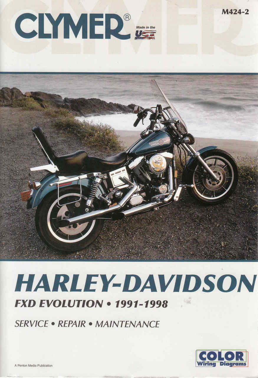 Harley-Davidson FXD Revolution 1991 - 1998 Workshop Manual (9780892878710)  ...