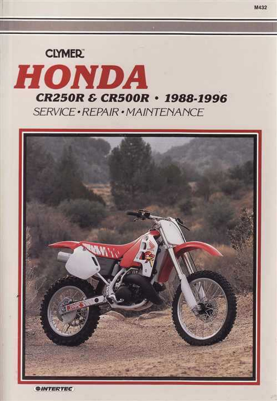 honda cr250r amp cr500r 1988 1996 workshop manual rh automotobookshop com au 1997 Honda CR250 1994 Honda CR250