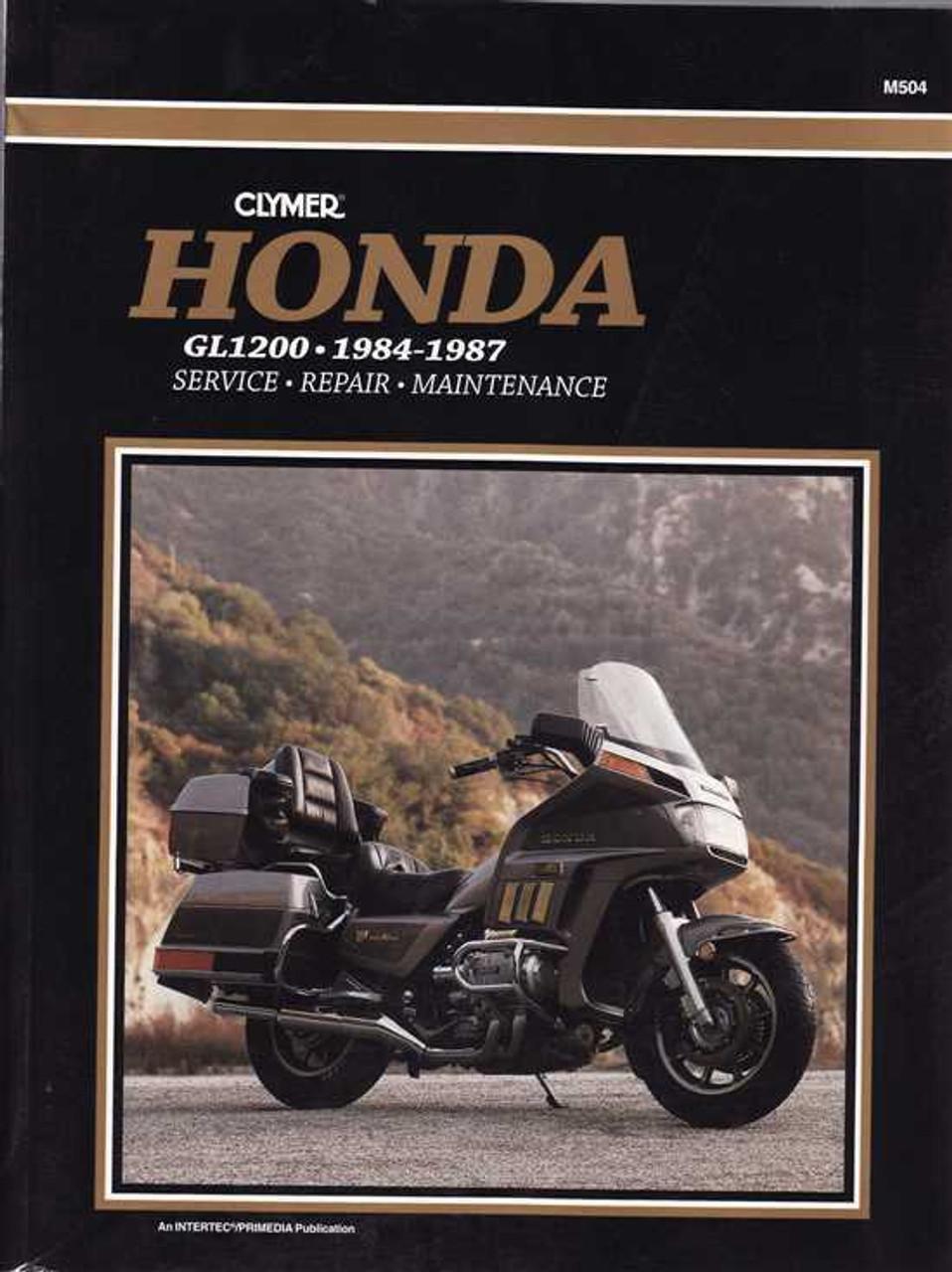 honda gl1200 1984 1987 workshop manual rh automotobookshop com au honda gl 1200 workshop manual honda goldwing owners manual