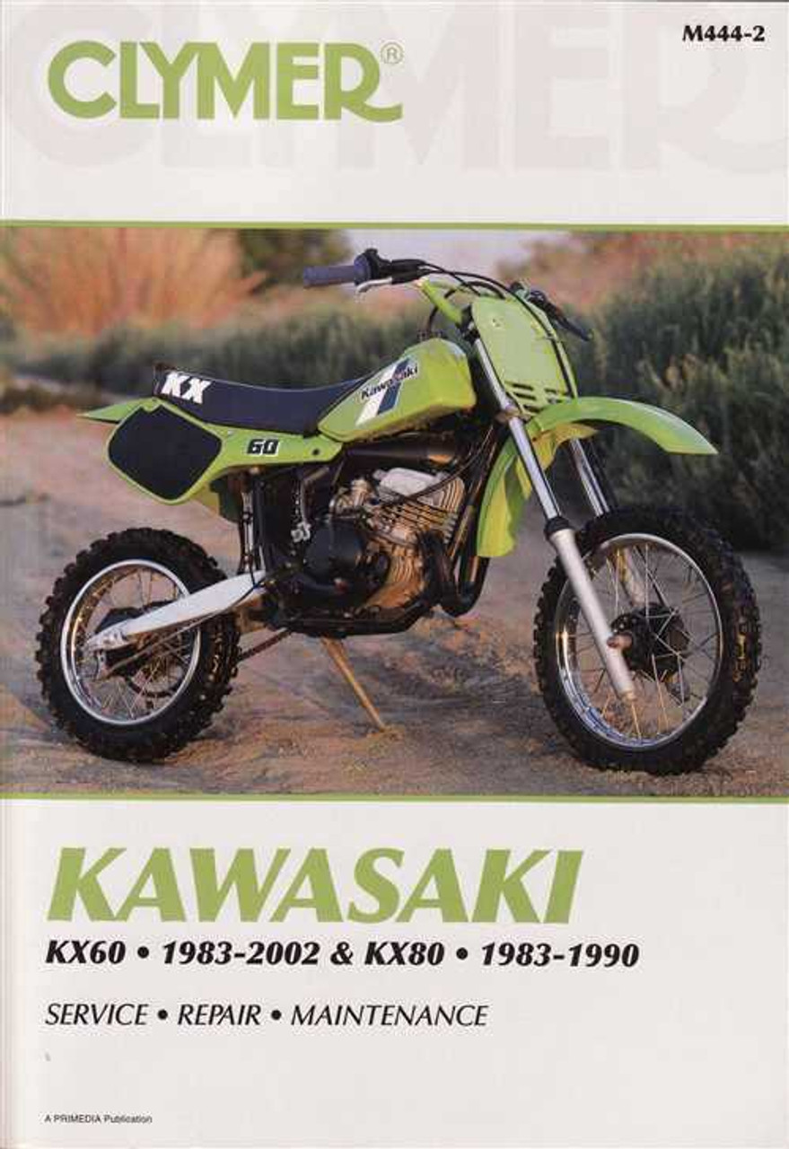 kawasaki kx60 amp kx80 1983 2002 workshop manual rh automotobookshop com au Kawasaki A1 kawasaki kx 60 service manual download