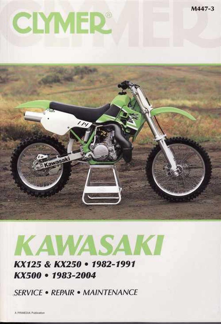 kawasaki kx125 kx250 amp kx500 1982 2004 workshop manual rh automotobookshop com au kx 250 repair manual kx250 service manual pdf